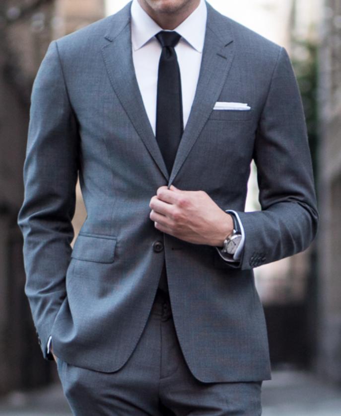 4 najrozšírenejšie typy ramien pre oblekové sako