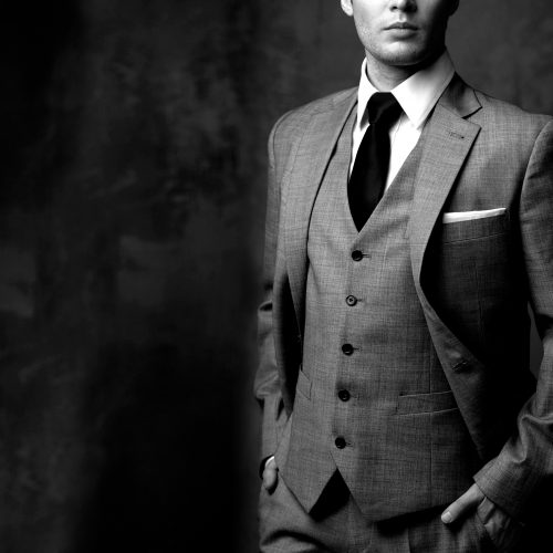 džentlmen sako kravata oblek kodex džentlmena elegancia