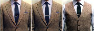 Kravatová spona, spona na kravatu, oblek, sako, košeľa, džentlmen, kodex gentlemana, kódex džentlmena