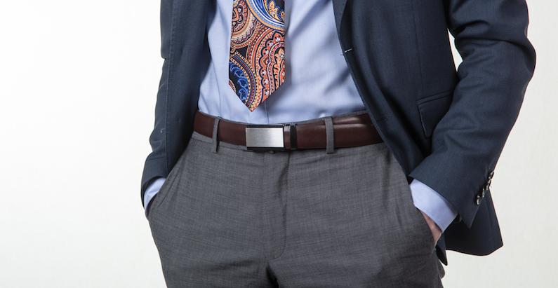 Obleková košeľa Stevula modrá košeľa cutaway golier, detail rukáv sako
